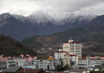 [포토]눈 덮힌 산청 웅석산